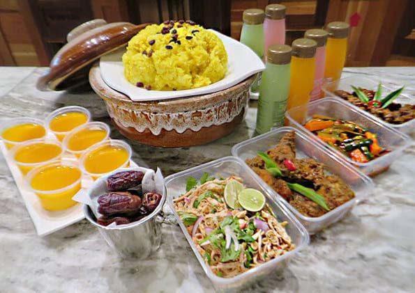 kontiki restaurant the federal kl ramadan set menu online delivery menu