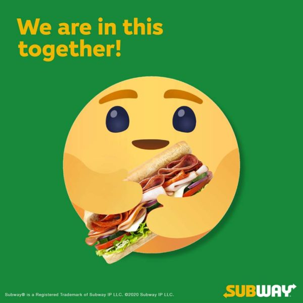 subway malaysia discover and pay forward campaign caring