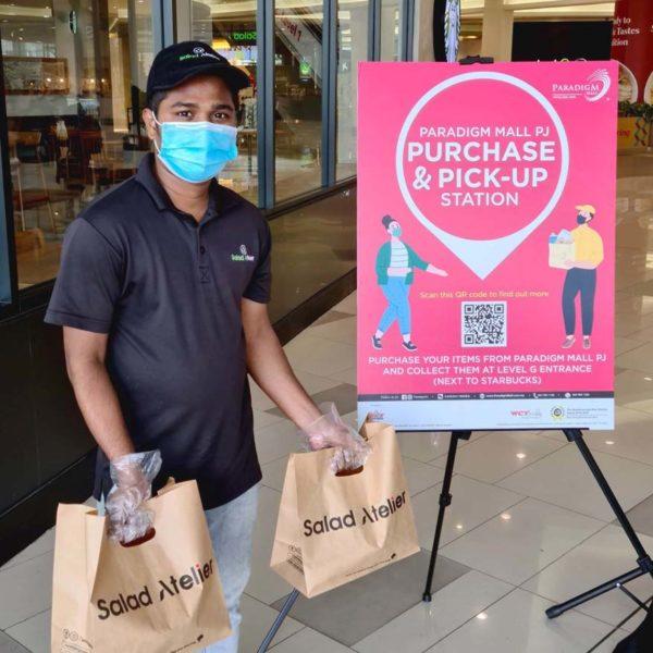 wct malls purchase and pick up service paradigm mall petaling jaya social distancing