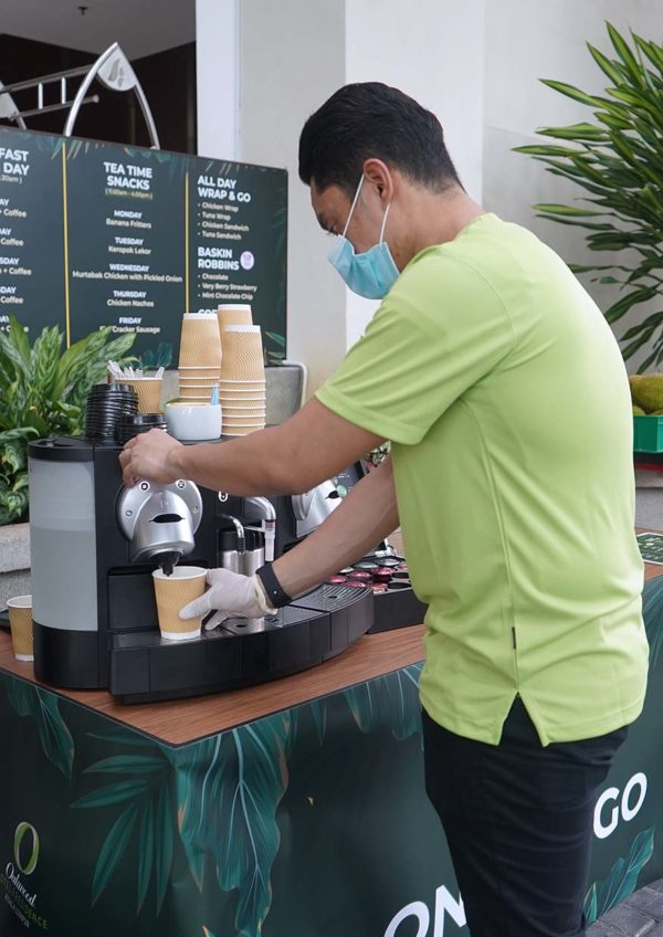 oakwood hotel residence kl on the go promo free coffee