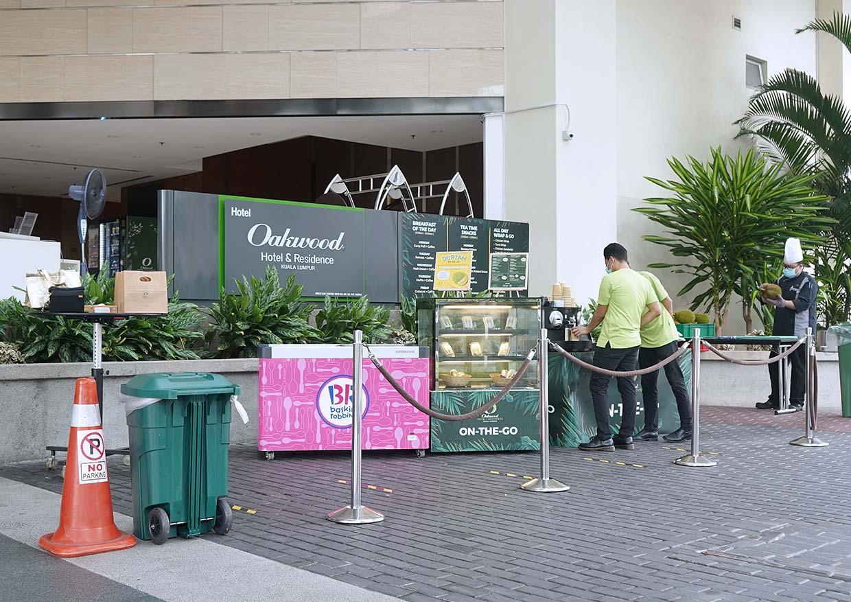 Portable Meals On-The-Go @ Oakwood Hotel & Residence Kuala Lumpur
