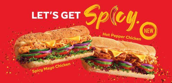 subway malaysia tambahpedas hot spicy subs promo