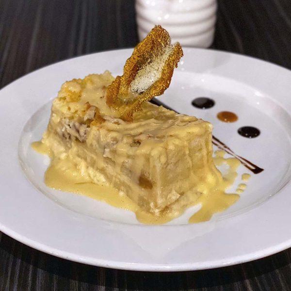 pier 12 seafood tavern kuala lumpur bread butter pudding