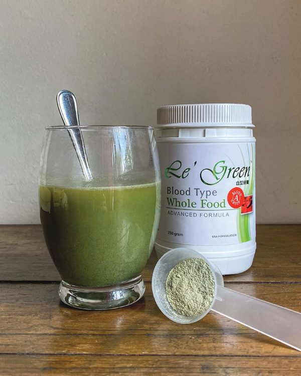 le green complete cell nutrition whole food according blood type