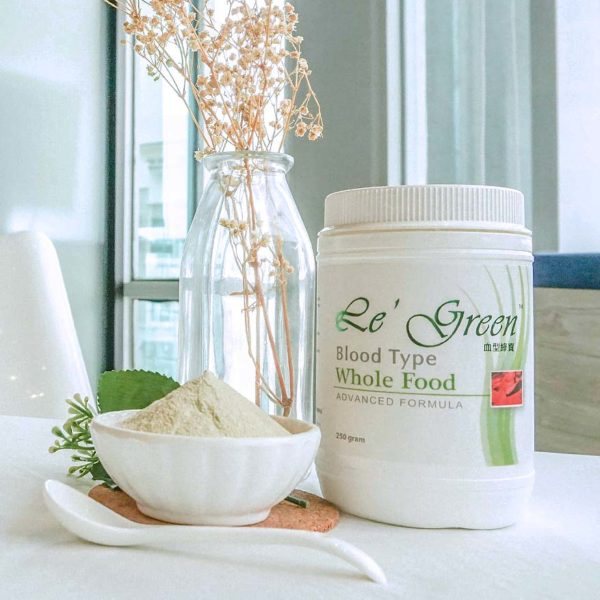 le green complete cell nutrition whole food according blood type formula