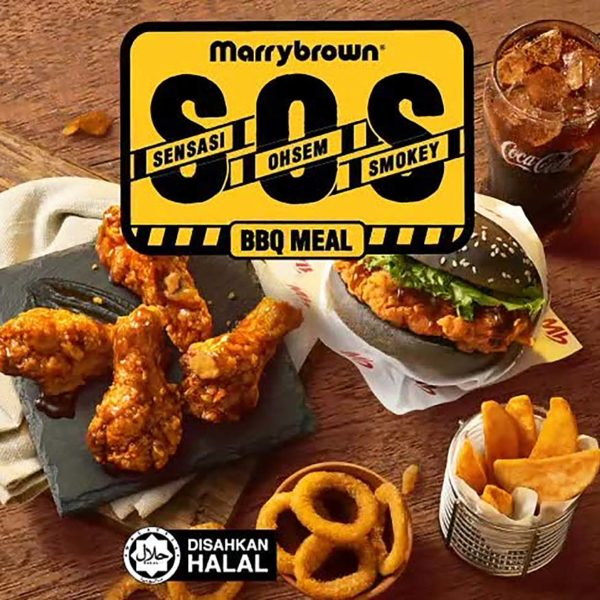 marrybrown malaysia sos bbq combo meal promotion
