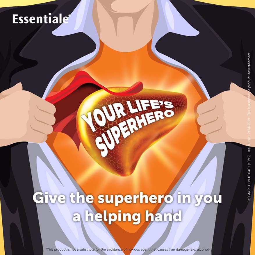 Essentiale Encourages You To Start Taking Care Of Liver Health