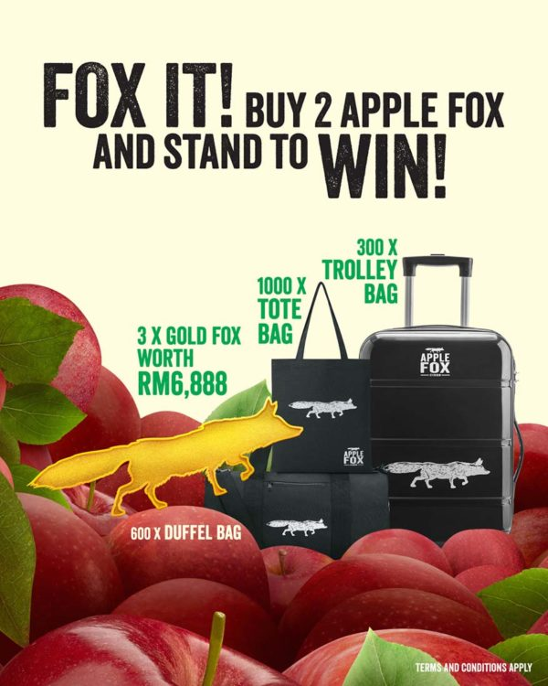 apple fox cider quench your curiosity prizes
