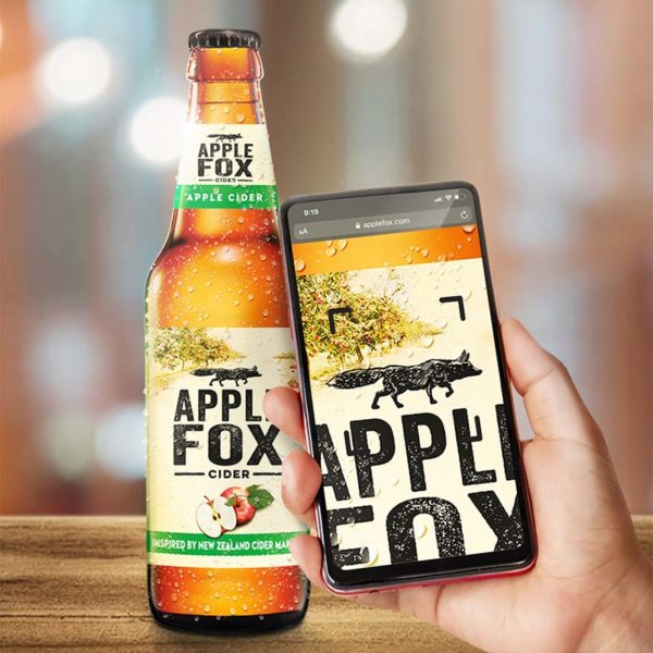 apple fox cider scan the fox