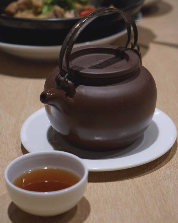 purple cane tea restaurant mid-autumn family set boiled tea soup