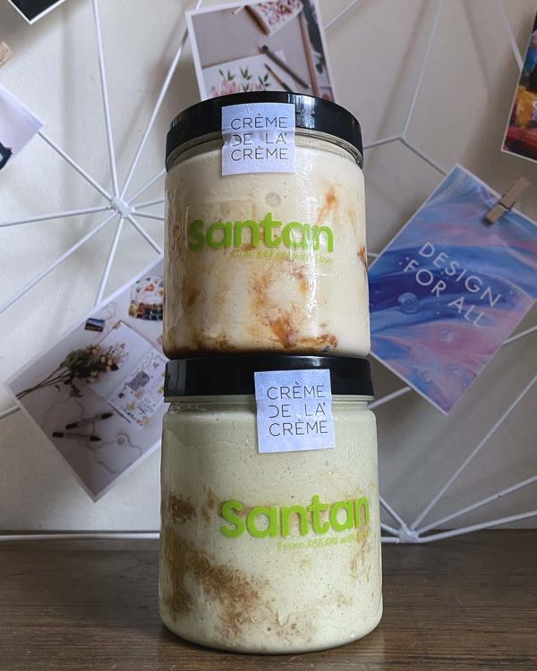 santan creme de la creme nasi lemak and pandan dodol ice cream