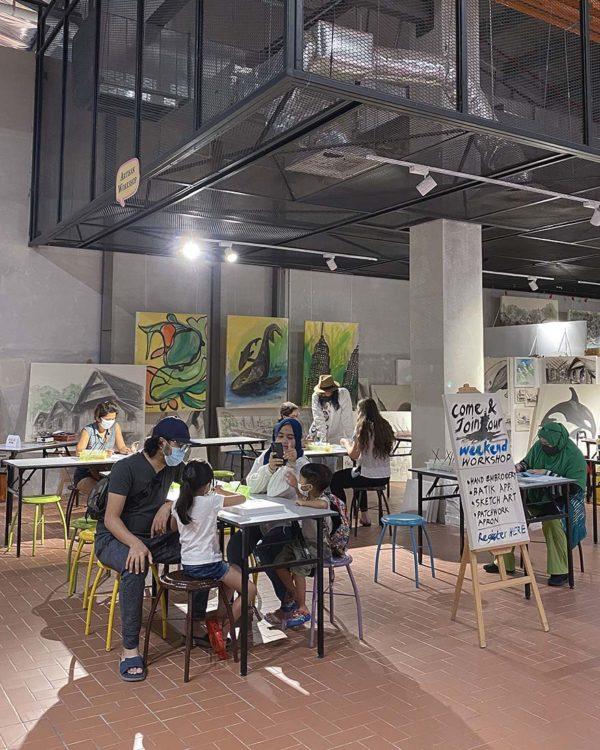 the linc kl myslangmypride exhibition artisan weekend workshop
