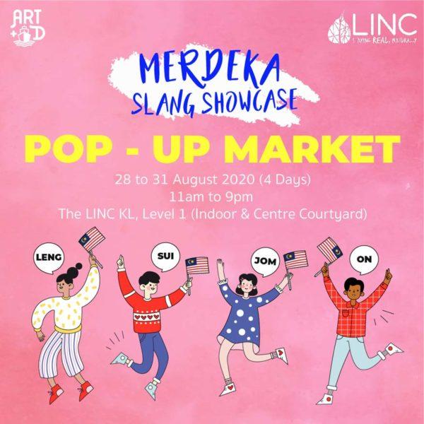 the linc kl myslangmypride exhibition pop up market weekend bazaar