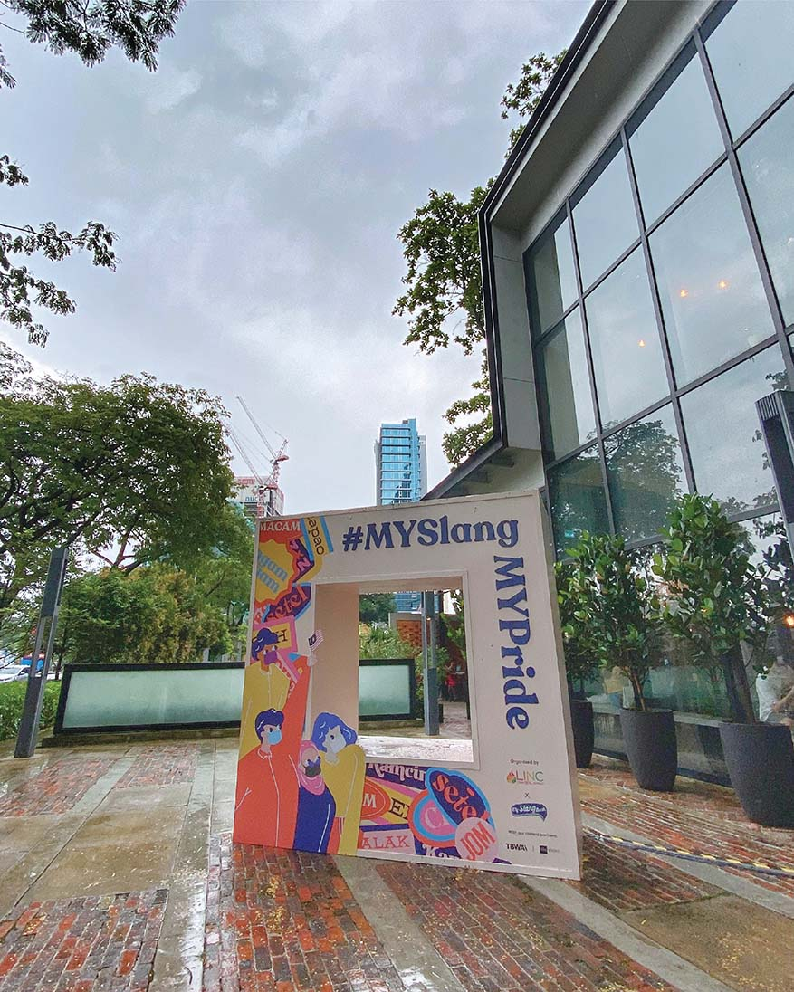 #MySlangMYPride Malaysian Slang Exhibition @ The LINC KL