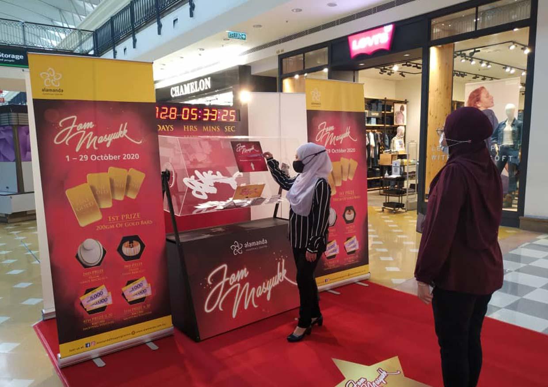 """""""Jom Masyukk"""" Gold Winning @ Alamanda Shopping Centre, Putrajaya"""