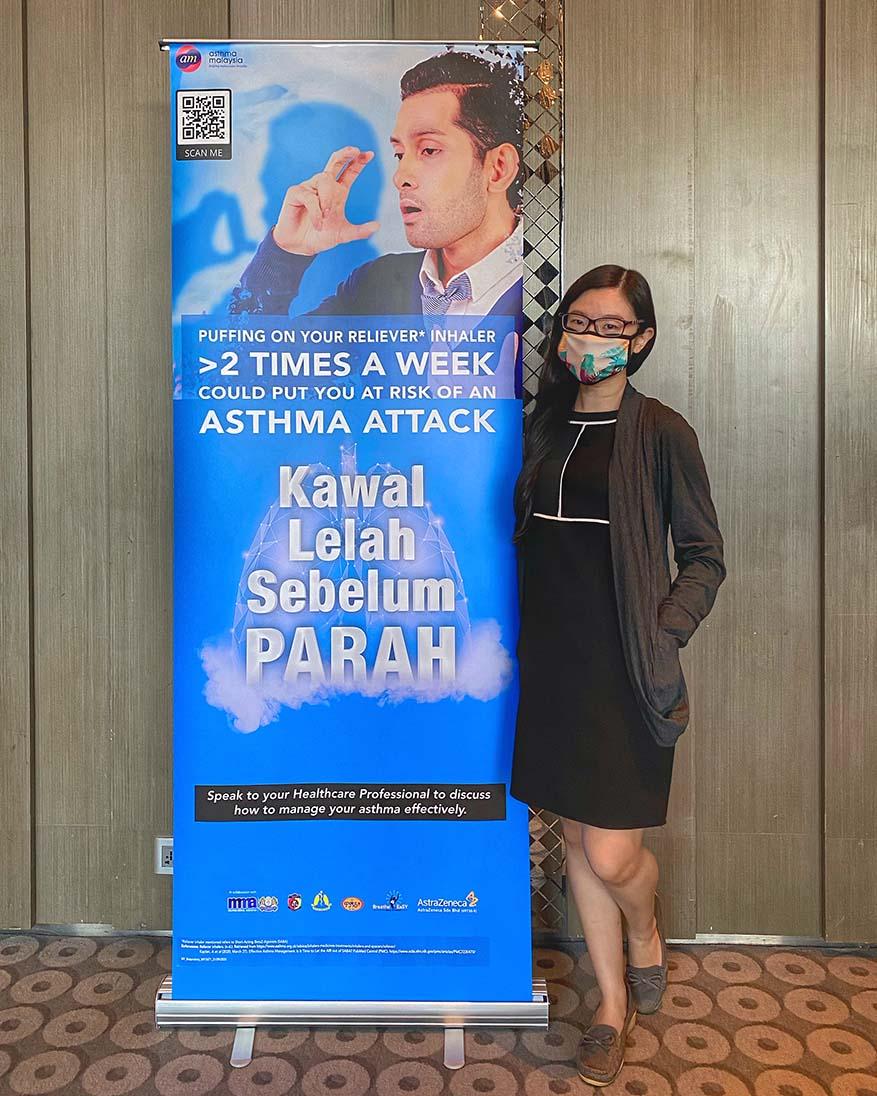Raising Awareness On Asthma Management @ 'Kawal Lelah Sebelum Parah'