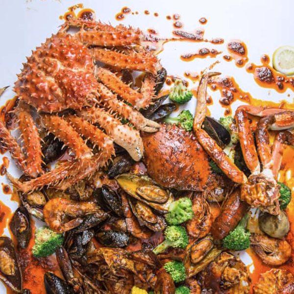 ombak kitchen seafood boil restaurant bangsar kuala lumpur varieties