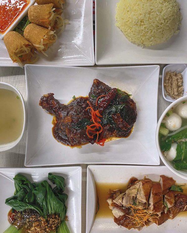the chicken rice shop flaming koli deepavali menu chicken
