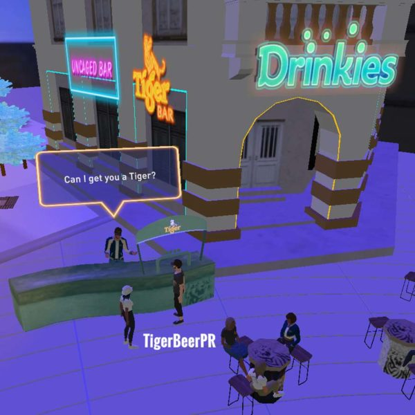 tiger beer street food virtual festival drinkies bar