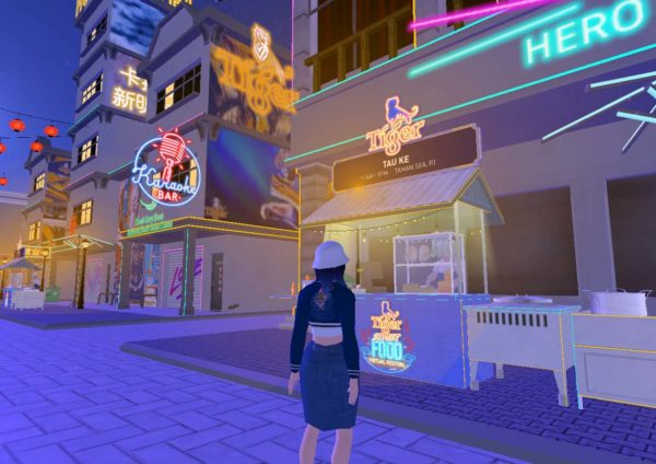tiger beer street food virtual festival vendor stall