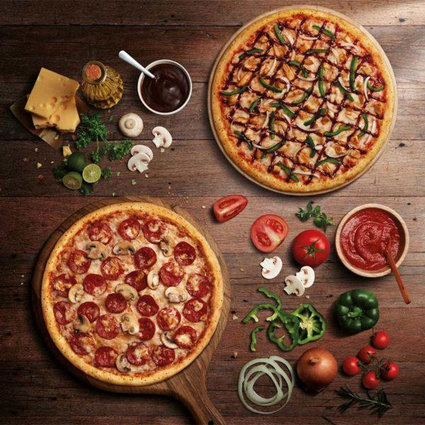dominos pizza everyday value pandu ambil