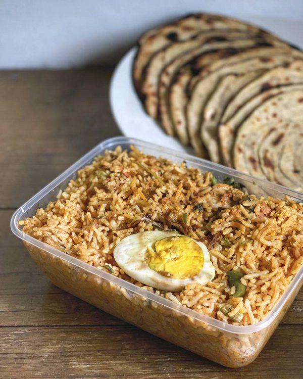 passage thru india deepavali menu chicken dhum briyani