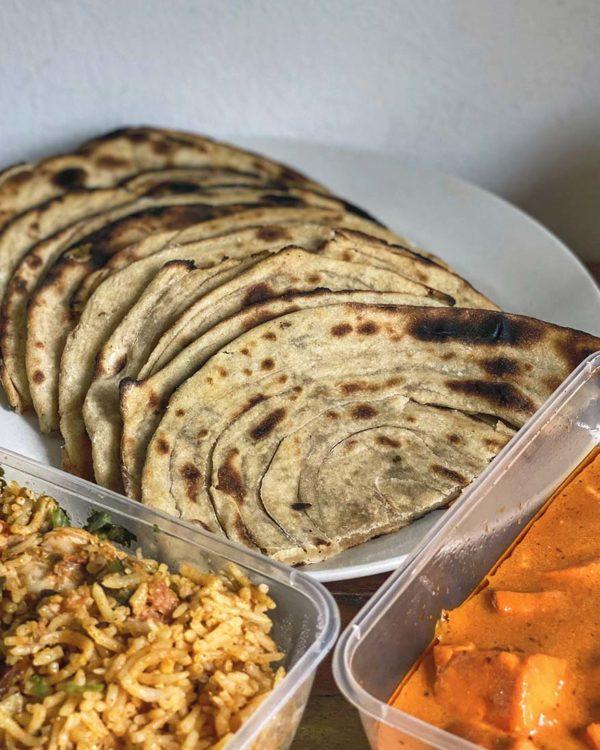 passage thru india deepavali menu tandoor parottha