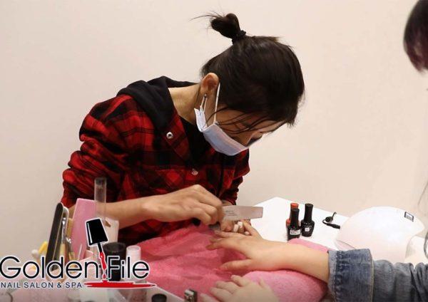 1 mont kiara my1MK delivery platform golden file nail salon