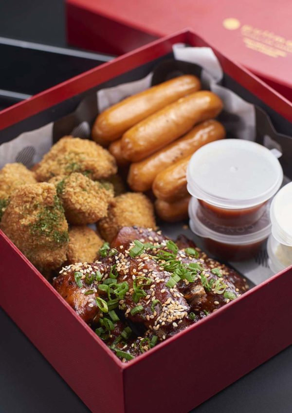 party food delivery pullman klcc chicken snack box