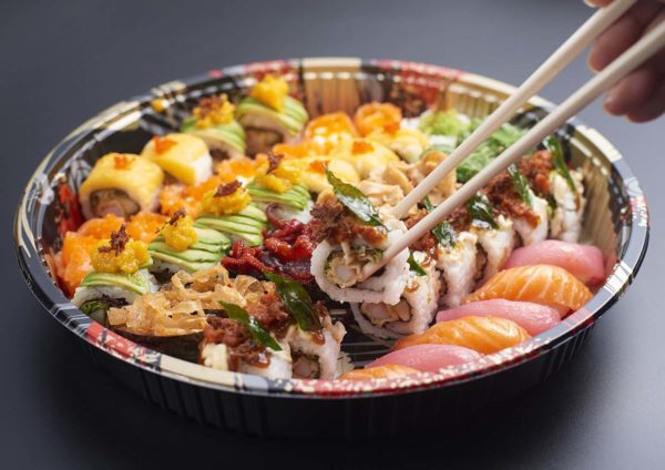party food delivery pullman klcc japanese sushi platter