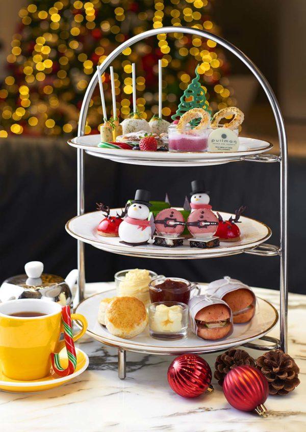 pullman klcc christmas new year celebration afternoon tea set