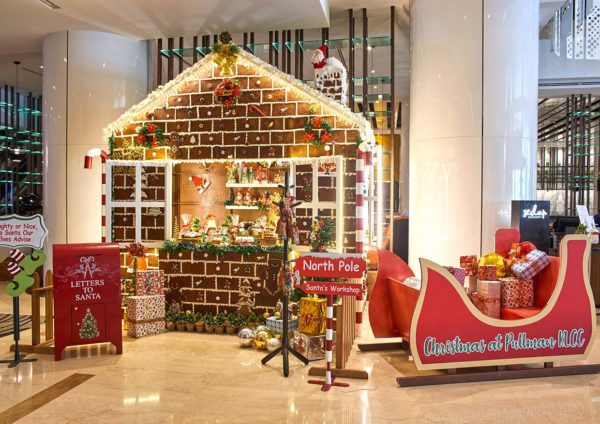 pullman klcc christmas new year celebration life size gingerbread house