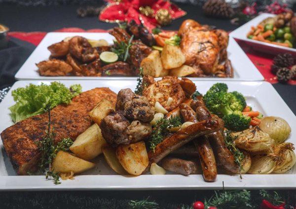 rockafellers changkat bukit bintang kl christmas menu platter