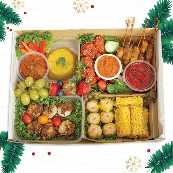 tapaulah christmas season holiday makan syok platter