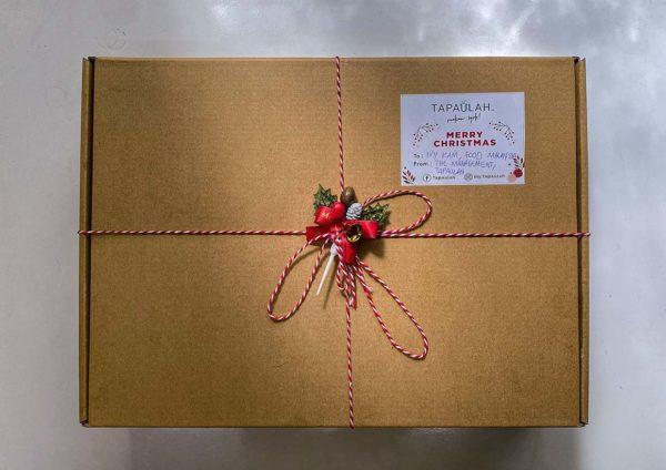 tapaulah christmas season holiday makan syok platter box