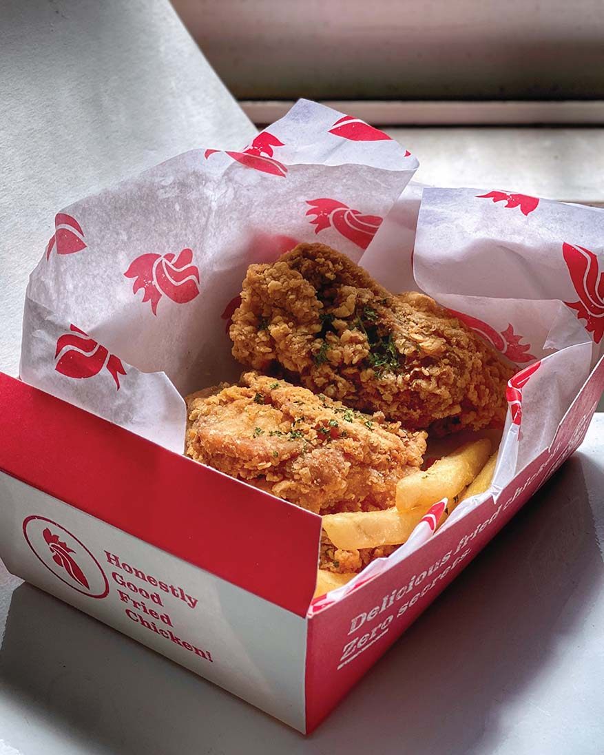 New Food Choice Jackson's Fried Chicken & Hooked and Cooked @ foodpanda