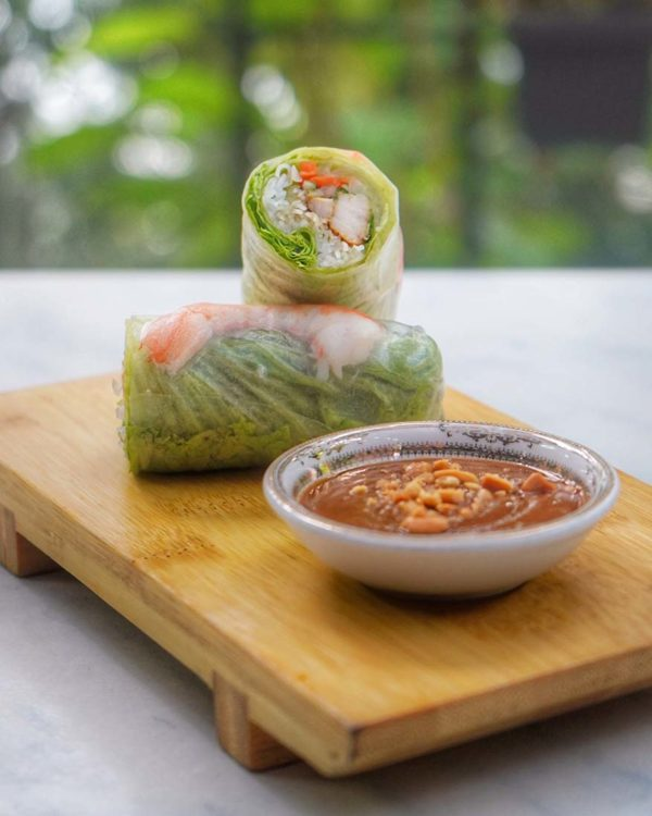 rasa viet the sphere bangsar south vietnamese restaurant summer roll