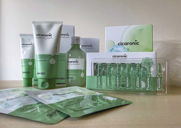 snp prep cicaronic skin care product range