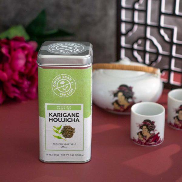 the coffee bean tea leaf cny 2021 karigane houjicha