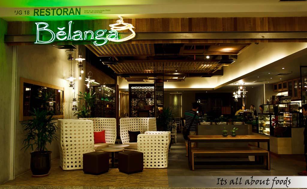 Belanga Café @ Empire Shopping Gallery, Subang Jaya