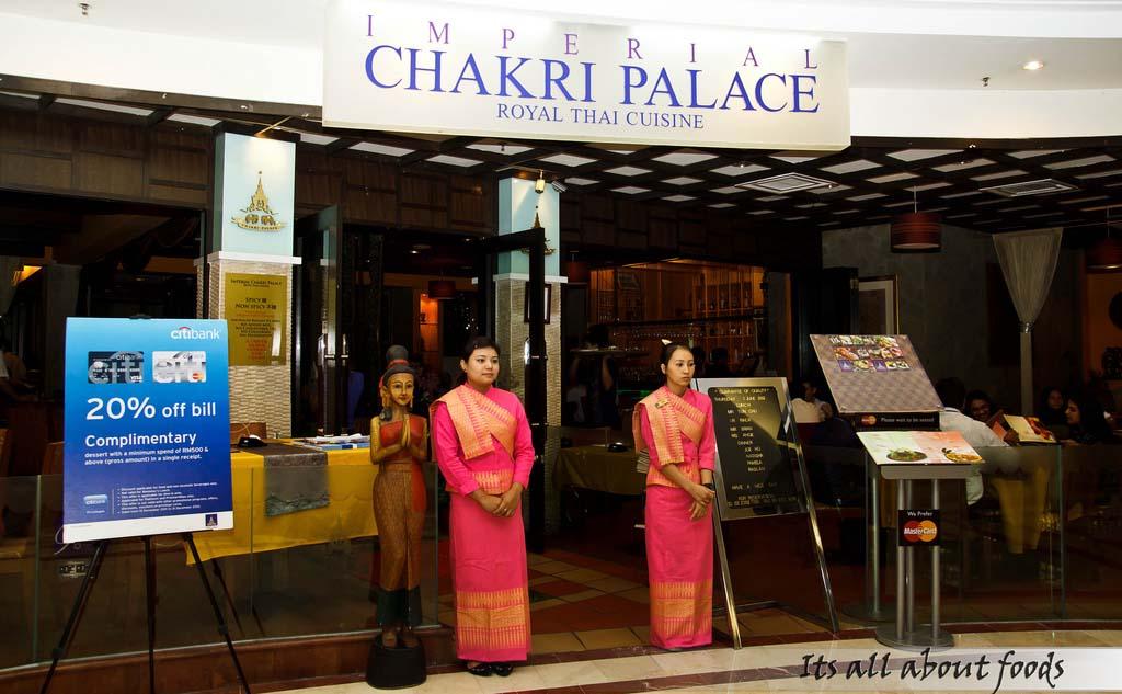 Imperial Chakri Palace @ Suria KLCC, Kuala Lumpur