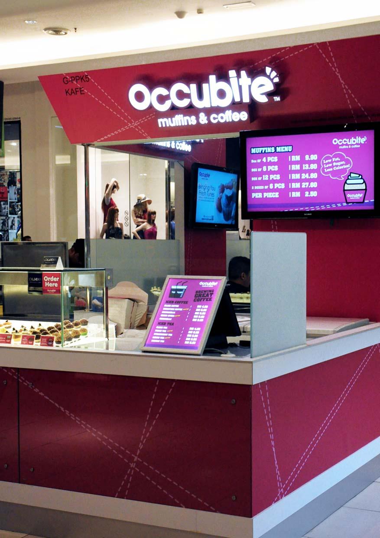 Occubite Muffins & Coffee @ Tropicana City Mall, Petaling Jaya