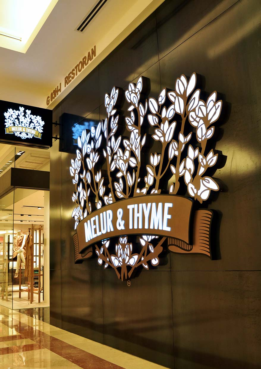 Melur & Thyme @ Suria KLCC, Kuala Lumpur