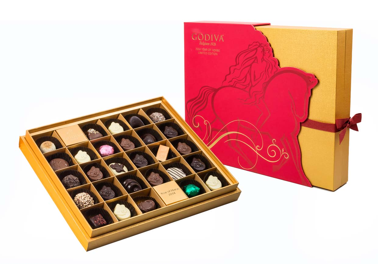 GODIVA 2014 Chinese New Year Limited Collection
