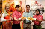 kfc bangkok green curry chicken and zinger green curry burger