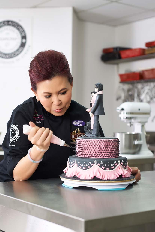 Malaysia Celebrity Chef Rosalind Chan The Brand Ambassador Of Satin Ice