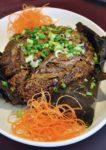 chinese new year menu 2015 royal gourmet premiere hotel klang waxed meat glutinous rice