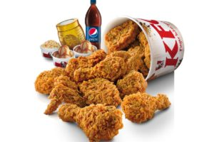 KFC Golden Egg Crunch Chicken And Golden Burger @ Chinese New Year 2015