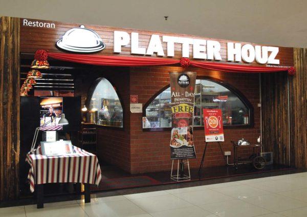 Platter Houz Restaurant @ USJ 19 City Mall, Subang Jaya