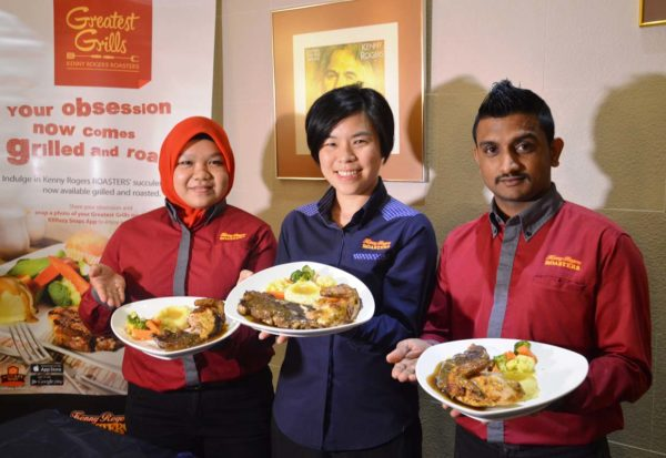 Greatest Grills Promotion @ Kenny Rogers Roasters Malaysia